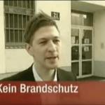 Brand in Schubhaft Philipp Sonderegger